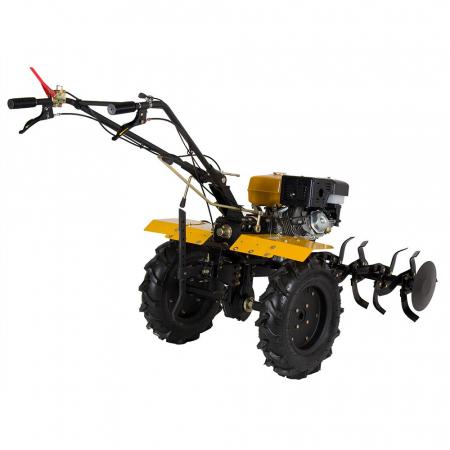 Motocultor 13CP ProGARDEN HS1100D, 2+1, roti 6.00-12, far, benzina2