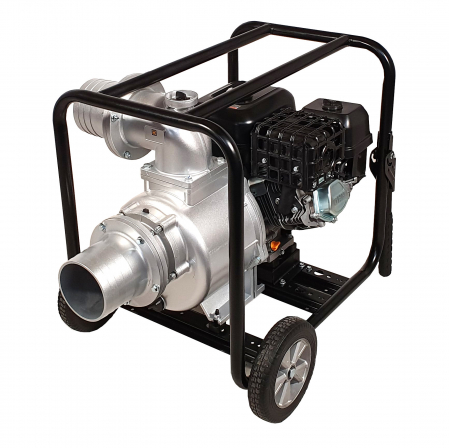 "ProGARDEN PB60 motopompa 6""/150mm, benzina, apa curata, pornire la sfoara0"
