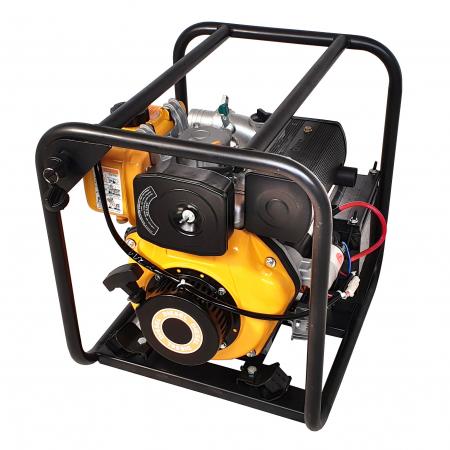 """ProGARDEN PD20E motopompa 2""""/50mm, diesel, apa curata, pornire electrica0"""