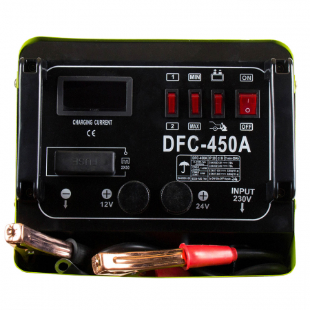 ProWELD DFC-450A redresor acumulatori 12V/24V, functie Start1