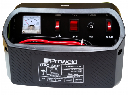 ProWELD DFC-50P redresor acumulatori 12V/24V, functie Start2