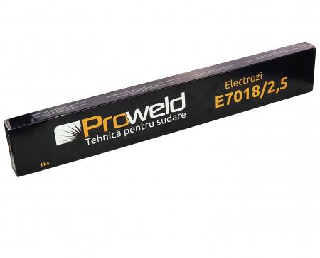 ProWELD E7018 electrozi bazici 2.5mm, 1kg0