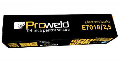 ProWELD E7018 electrozi bazici 2.5mm, 5kg2