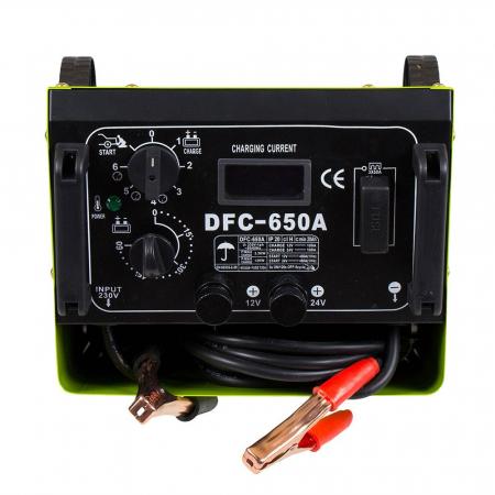 Redresor baterii + Robot ponire auto Proweld DFC 650 A 12V/24V, functie Timer, Start3