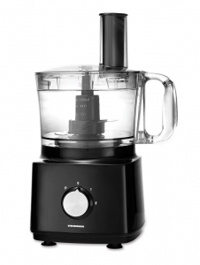 Robot de bucatarie Heinner HFP-750BK, 750 W, Bol 1.2 l, Blender 1.8 L, Disc feliere, Maruntire, Negru1