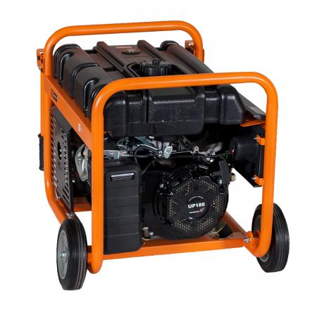 Stager GG 6300W generator open-frame 5kW, monofazat, benzina, pornire la sfoara2