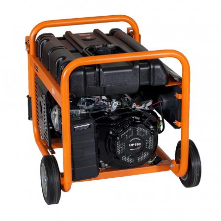 Stager GG 7300-3W generator open-frame 5.8kW, trifazat, benzina, pornire la sfoara1