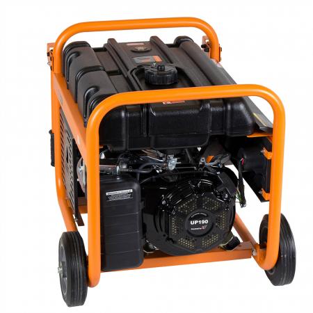 Stager GG 7300W generator open-frame 5.8kW, monofazat, benzina, pornire la sfoara1