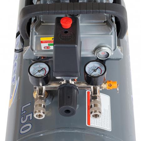 Stager HM2050B compresor aer, 50L, 8bar, 200L/min, monofazat, angrenare directa2
