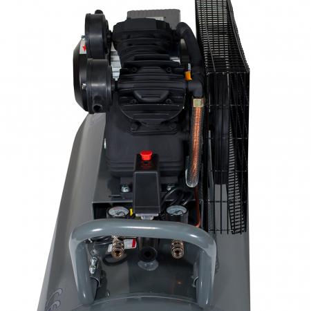 Stager HMV0.25/250 compresor aer, 250L, 8bar, 250L/min, monofazat, angrenare curea1