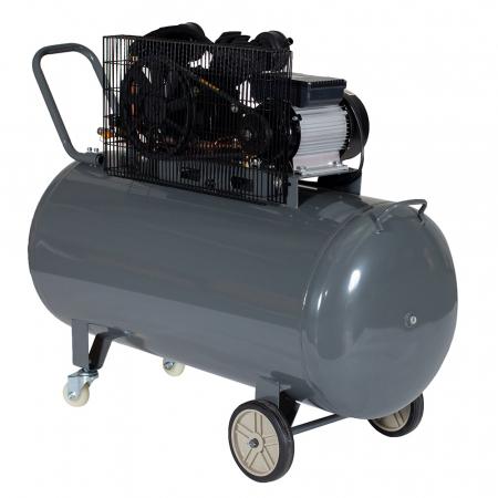 Stager HMV0.25/250 compresor aer, 250L, 8bar, 250L/min, monofazat, angrenare curea2