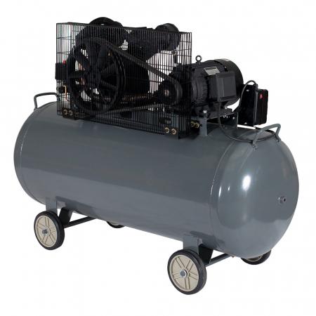 Compresor aer Stager HMV0.6/370, 370L, 8bar, 600L/min, trifazat, angrenare curea2