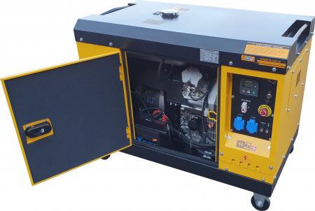 Stager YDE15000T Generator insonorizat diesel monofazat 11kVA, 48A, 3000rpm2
