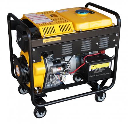Stager YDE6500EW Generator sudare diesel monofazat, 2kVA, curent sudare 160A, pornire la cheie [1]