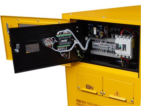 Stager YDY15S-E Generator insonorizat diesel monofazat 14kVA, 20A, 1500rpm [1]