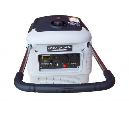 Stager YGE3000i Generator digital invertor monofazat, 2.8kW, benzina, pornire la sfoara2