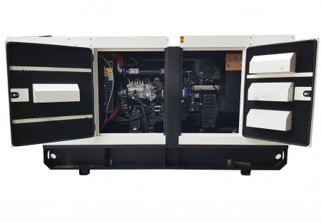 Tide Power TC100C-T Generator insonorizat diesel trifazat, 100kVA, 144A, 1500rpm cu automatizare0