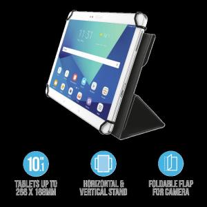 """Trust Aexxo Universal Folio Case 10.1"""" T1"""