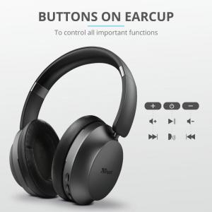 Trust Eaze Wireless Over-ear Headphones3
