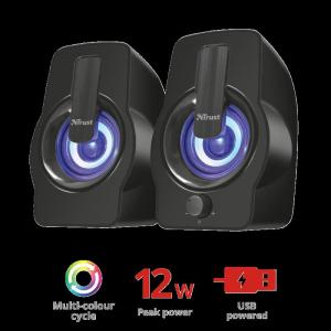 Trust Gemi RGB 2.0 Speaker Set - black1
