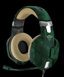 Casti Gaming Trust GXT 322C Carus, Microfon, Jack 3.5mm (Verde)1