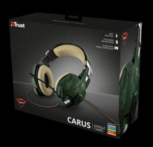 Casti Gaming Trust GXT 322C Carus, Microfon, Jack 3.5mm (Verde)11