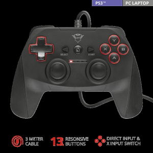 Trust GXT 540 Yula Wired Gamepad1