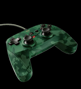 Trust GXT 540C Yula Wired Gamepad camo0