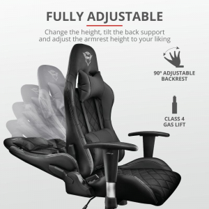 Trust GXT 707 Resto Gaming Chair - black1
