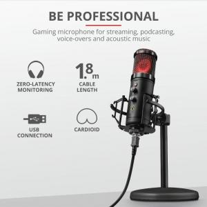 Trust GXT256 EXXO Streaming Mic USB2