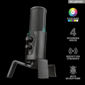 Trust GXT258 FYRU 4in1 Streaming Mic0