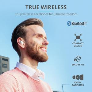 Trust Nika TWS Bluetooth Earphones White12