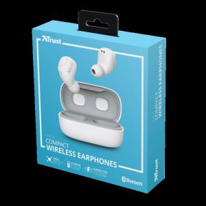 Trust Nika TWS Bluetooth Earphones White13
