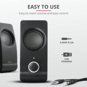 Boxe Stereo Trust Remo 2.0 Speaker Set TR-175955