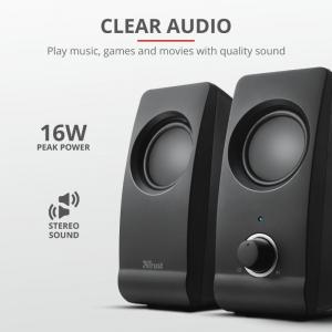 Boxe Stereo Trust Remo 2.0 Speaker Set TR-175953