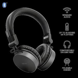 Trust Tones Bluetooth Wireless Headphone1
