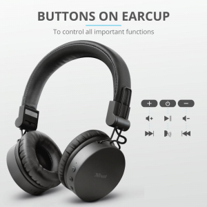 Trust Tones Bluetooth Wireless Headphone5