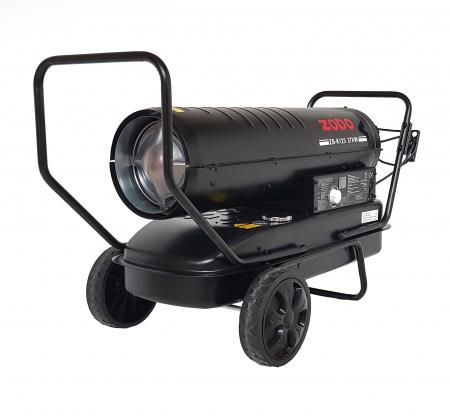 Zobo ZB-K125 Tun de aer cald, ardere directa, 37kW1