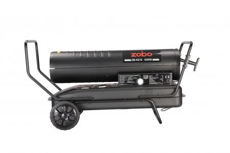 Zobo ZB-K215 Tun de aer cald, ardere directa, 63kW3