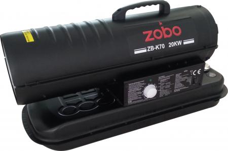 Zobo ZB-K70 Tun de aer cald, ardere directa, 20kW2