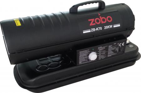 Zobo ZB-K70 Tun de aer cald, ardere directa, 20kW0