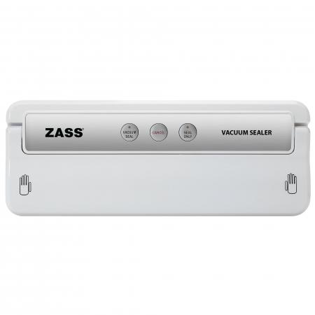 Aparat de vidat alimente Zass ZVS 02,Putere 155 W, Presiune vid: 0,60 ~ 0,80 bar, Pentru folie cu latimea de max. 30cm