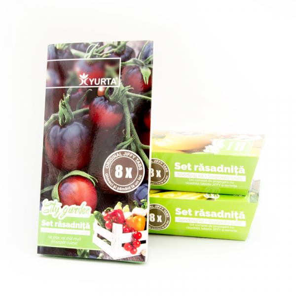 Set rasadnita medie tomate negre 0