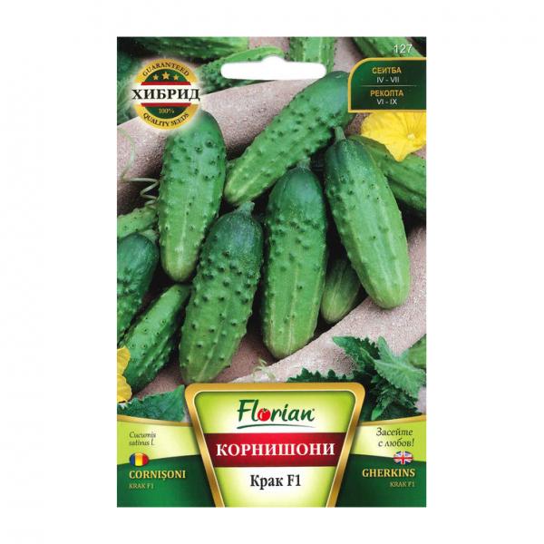 Seminte de castraveti, Florian, Soi cornison krak f1, Semitimpuriu, 1 g 0