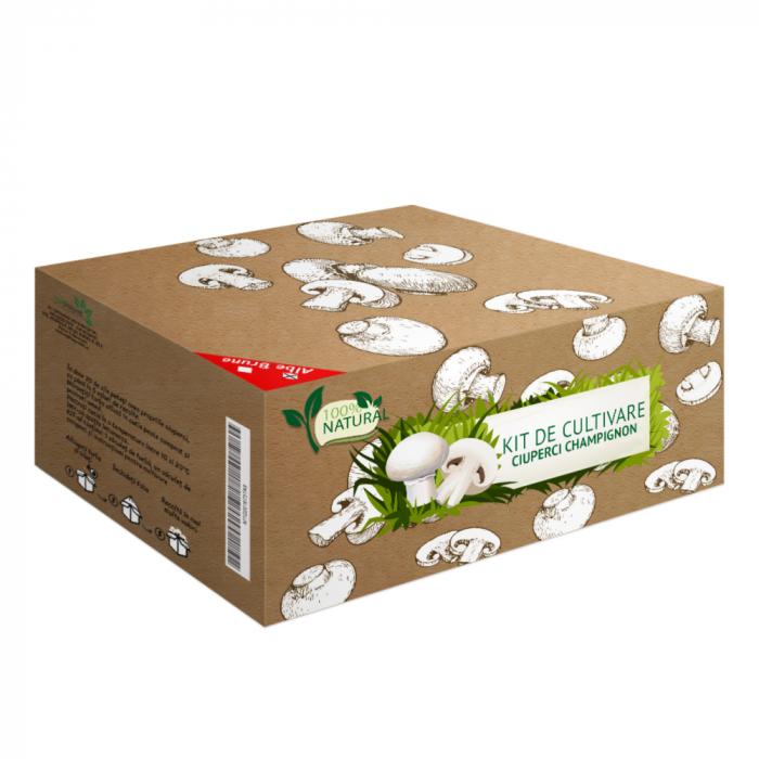Cutie cultura ciuperci Champignon-alb [0]