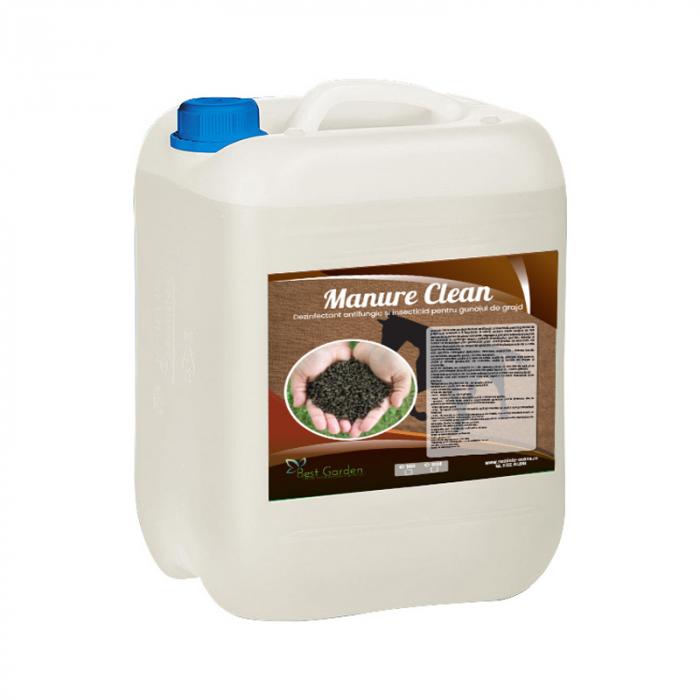 Dezinfectant bio pentru gunoiul de grajd Manure Clean 10 L 0