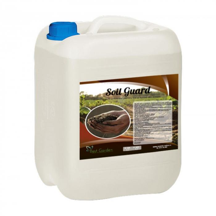 Dezinfectant bio pentru sol si turba Soil Guard 10 L 0