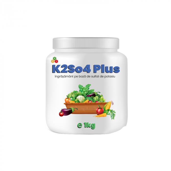 Ingrasamant pe baza de Sulfat de Potasiu K2So4 Plus 1 kg [0]