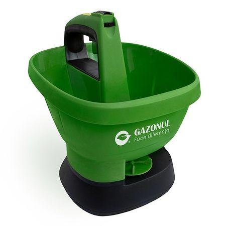 Aplicator electric seminte si ingrasaminte gazon Easy Drop, 2,7 litri+ ingrasamant cadou 1