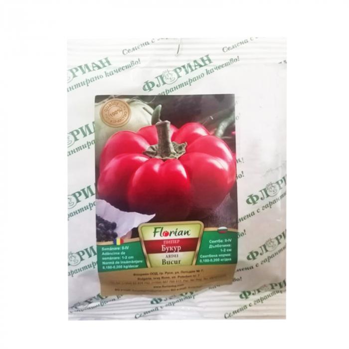 Seminte Ardei Gogosar Bucur, 50 grame 0